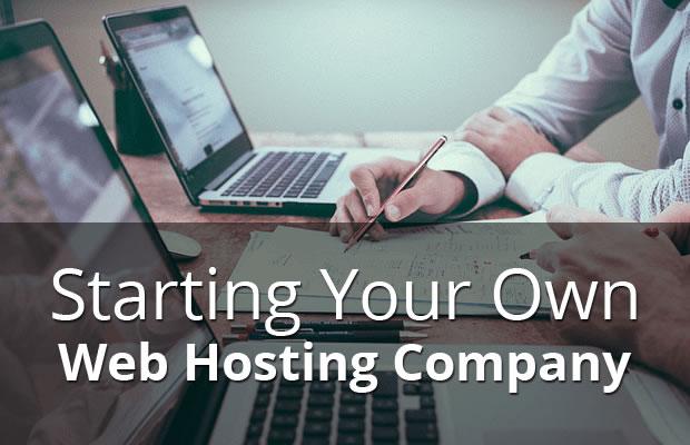 own web hosting company